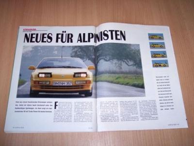 1991 Renault Alpine A 610. Renault Alpine A 610 Tu