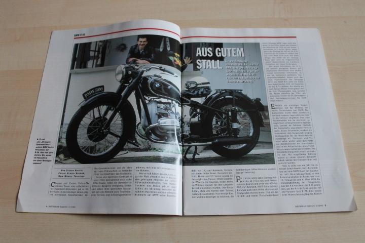 motorrad classic 05 1999 bmw r 66 in einer seltenen g ttingen. Black Bedroom Furniture Sets. Home Design Ideas