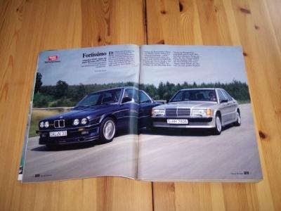 Alpina B6 E30. Doppeltest - BMW Alpina B6